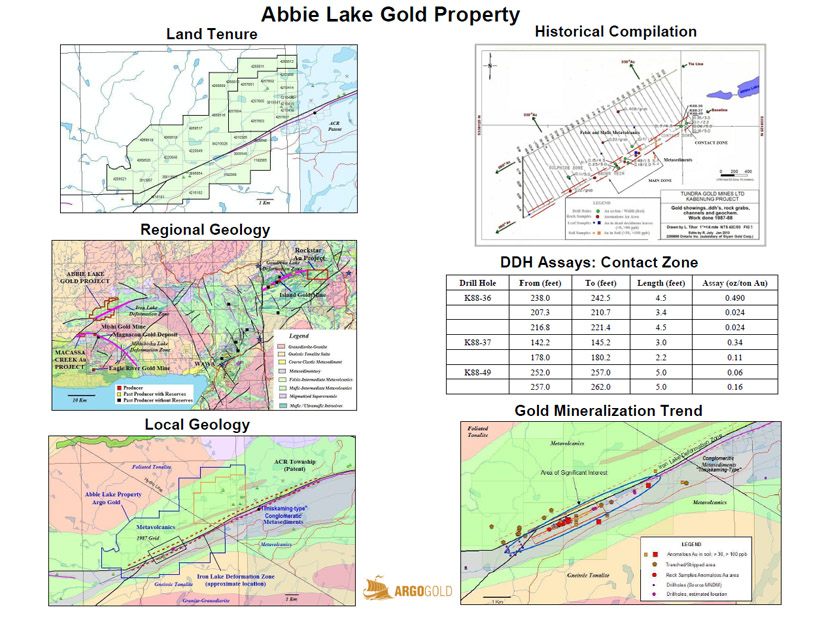 Abbie Lake Gold Project