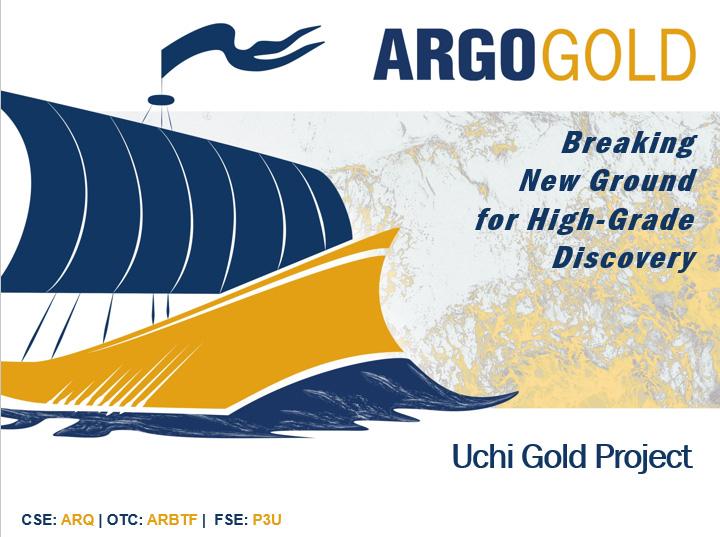 Présentation de la société Argo Gold pour décembre 2020 (en anglais)