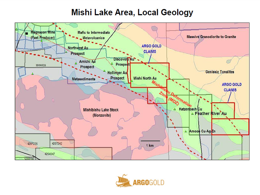 Mishi Lake Gold Project