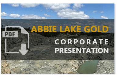 Abbie Lake Gold Corporate Presentation
