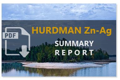 Hurdman Zinc-Silver Summary Report