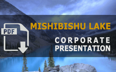 Mishibishu Lake - Corporate Presentation
